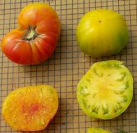Striped German (Novelty/Heritage Tomato)