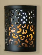 Scroll Wall Sconce Candle