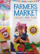 Farmers Market Create & Play Activity Book