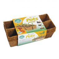 Plantable Coconut Fibre Containers - 32 pack