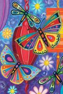 Garden Flag - Bright Wings