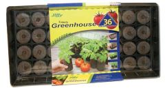 Tomato Greenhouse with 36 Jiffy-7® Pellets