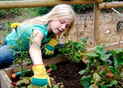 Kids & Gardening